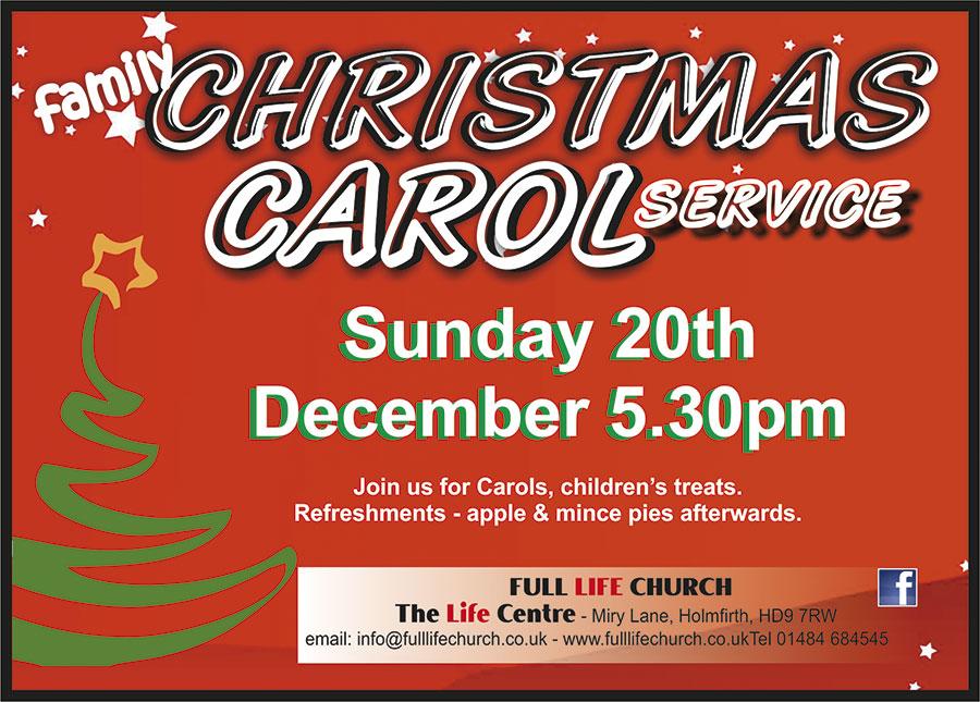 Carol Service  2015